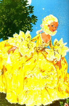 Cinderella in yellow.