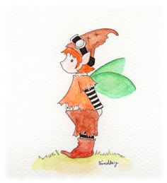 Pixie Tigger, Pixie, Disney Characters, Fictional Characters, My Arts, Colours, Watercolor, Pen And Wash, Watercolor Painting