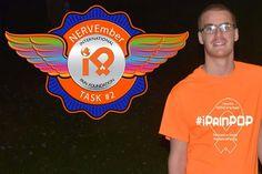 #NERVEmber Task2: Wear something orange today and everyday all month long #HOPEISTRUE #iPain #orange
