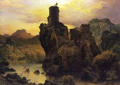 Carl Friedrich Lessing -  Castle