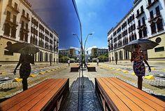 Bulevar del Río, el espacio que le cambio la cara a #Cali #PorCaliLoHagoBien #MiCaliSoñada Railroad Tracks, Nun, Bridges, Walks, Parks, Space, Train Tracks