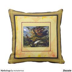 Mythology Pillow #Mythological #Mythology #Painting #Art #Vintage #Fashion #Pillow