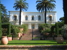This magnificent, 20,000 square foot, Belle Epoque mansion, sits at the top of a property of 7.5 acres of beautifully landscaped gardens, with breathtaking views from all sides over these gardens and to the sea.