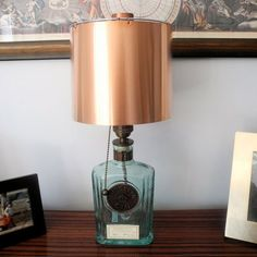 Brooklyn Gin Lamp with Copper Shade