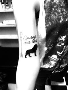 If I were to get a tattoo this might be it!