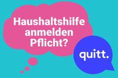 Blog – quitt.ch – Haushaltshilfen anstellen und versichern leicht gemacht. North Face Logo, The North Face, Blog, Infographic, Too Busy, First Aid, Knowledge, Blogging