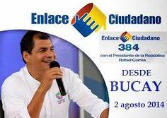 Resultado de imagen de enlace ciudadano ecuador