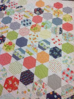 Modern Material Girl: Bucket List Quilt # 2