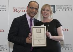 One of the highlights of my entrepreneurial journey! Theo Paphitis is super cool.
