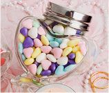 Personalized Glass Candy Jars - Quinceanera, wedding favors