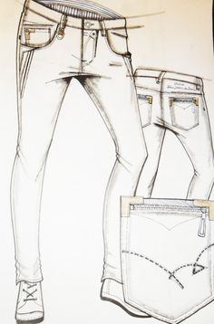 Croquis Masculinos - Inverno 2014 His Jeans, Denim Jeans Men, Fashion Flats, Denim Fashion, Starting An Online Boutique, Denim Art, Mens Fall, Moda Fitness, Colored Jeans