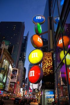 M M's World World in Times Square ~ Manhattan, New York