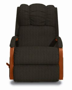 Harbor Town Reclina-Rocker® Recliner by La-Z-Boy   Changed the arms  to Coffee.....  for bedroom. to match comforter set coming..:)