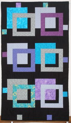 I want to make this in bright colors for Taylor's room.  3D squares