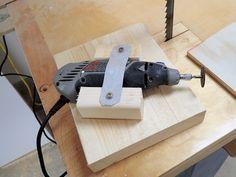 Making a simple band saw blade sharpening jig