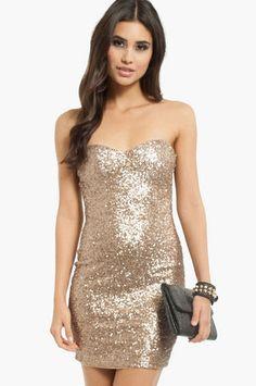 Party Sweetheart Dress $40 at www.tobi.com