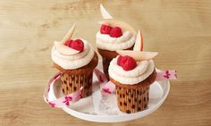 Himbeer-Apfel-Cupcakes Rezept | Dr. Oetker