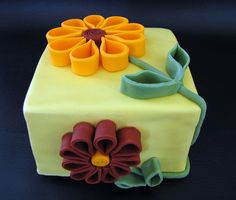 Quilled Flowers by Always with Cake, via Flickr