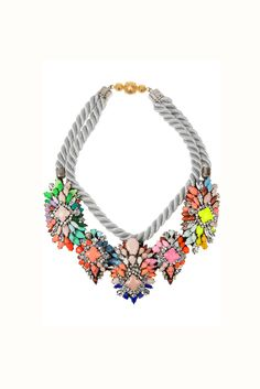 Collar multicolor de Shourouk
