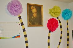 Tutorial on How to Make Truffula Trees - Dr. Seuss Classroom Decor Decorations