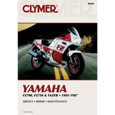 Yamaha FZ700, FZ750 and Fazer 1985-1987Clymer motorcycle repair manuals are written specifically for the do-it-yourself enthusiast. From basic maintenance to troubleshooting to complete overhaul, Clym