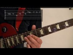 Guitar Lesson: 25 Easy Popular Rock Riffs ( 1 of 2 ) ( With Printable Tabs! Learn Guitar Chords, Music Chords, Learn To Play Guitar, Guitar Songs, Acoustic Guitar, Free Online Guitar Lessons, Guitar Lessons For Beginners, Music Lessons, Beatles Guitar