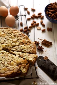 Dutch Spice Cake filled with Almond Mix