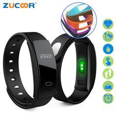 Great Buy $16.53, Buy ZUCOOR Smart Bracelet Fitness Band Heart Rate RB31 Pulse Blood Pressure Tracker Watch Pedometer Pulsera Inteligente Tonometer