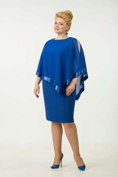 Evening and cocktail dresses for full women of the Belarusian company Tetra Bell. Plus Size Cocktail Dresses, Plus Size Gowns, Plus Size Dresses, Plus Size Outfits, Pretty Dresses, Beautiful Dresses, Dress Outfits, Fashion Dresses, Plus Size Fashionista
