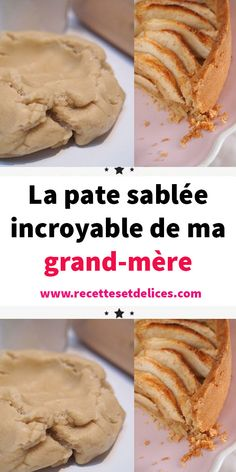 My grandmother's incredible shortcrust pastry - gateaux - patisserie - Healt and fitness Homemade Cake Recipes, Pound Cake Recipes, Easy Desserts, Dessert Recipes, Southern Pound Cake, Making Donuts, Almond Pound Cakes, Butter Cookies Recipe, Shortbread Recipes