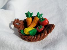 Farm Vegetable Basket by JesseMcCoyRoberts on Etsy