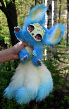 Three-tailed Kitten by GakmanCreatures on Etsy