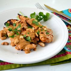 The Foodie Couple: Coconut-Cashew Chicken