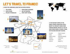 Worksheets: French Landmarks