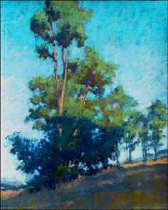 Morning Shadow by Terri Ford #landscape #tree #art