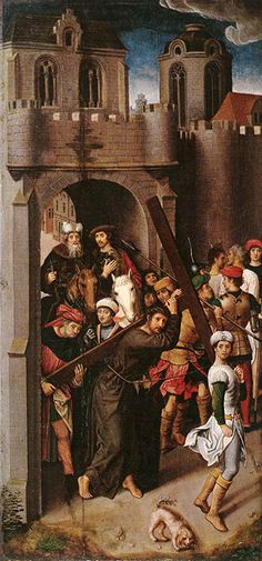 Hans Memling Carrying the Cross