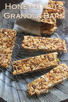 I love granola bars, but i have never shared a single recipe for it in my blog which surprised me. So here i am sharing a simple version...