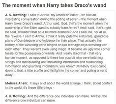 Confession time: I'm actually in love with JKR.