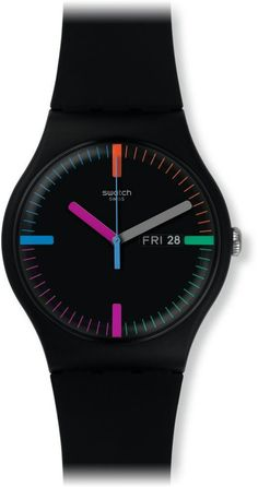 Amazon.com: Swatch SUOB719 New Gent - The Indexter Watch: Watches