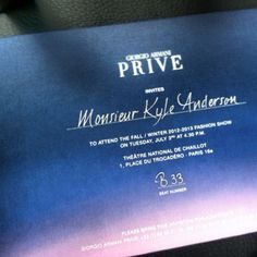 Kyle Anderson - Ticket to Armani Prive