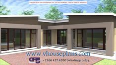 Overall Dimensions- x 2 Car Garage Area- Square meters Modern House Plans, Modern House Design, House Floor Plans, Logan House, My House, House Plans South Africa, Flat Roof House, Building Costs, Bedroom House Plans