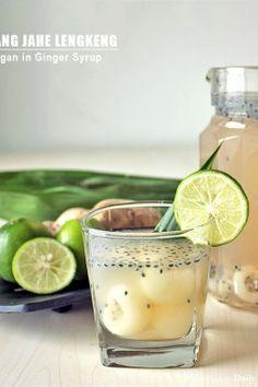 Wedang Jahe Lengkeng – Longan in Ginger Syrup
