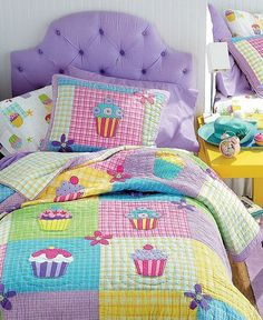 $109.00 Cupcake Bedding Collection