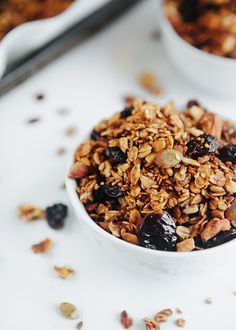 Healthy Chai Spiced Sweet Potato Granola - Some the Wiser