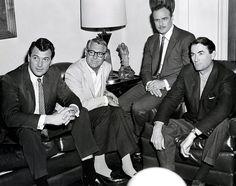 Rock Hudson, Cary Grant, Marlon Brando & Gregory-Peck