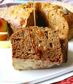 Whip up this Apple Honey Cake to welcome a sweet new year! Happy Rosh HaShanah! | C it Nutritionally