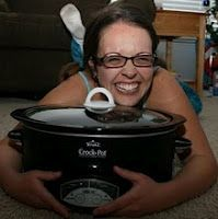 A Year of Slow Cooking.  365 crockpot recipes. No repeats. HAHA love this pic