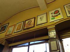 Impresionantes las obras que tiene el café Acrópolis en Zacatecas! Cuales reconoces?