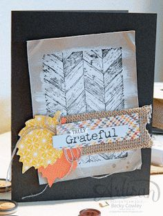 by Becky Cowley, scrap junkie: Artisan Wednesday WOW!