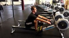 Learn how to look like a pro on the rowing machine with tips from ShockWave creator Josh Crosby and CrossFit coach Patrick Larcom.